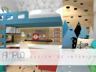 Modern nursery/kids room by Amplo Criativo Modern