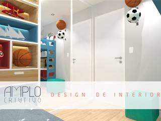Moderne Kinderzimmer von Amplo Criativo Modern