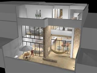 Casa VELANDIA : Casas de estilo  por SG Arquitectos