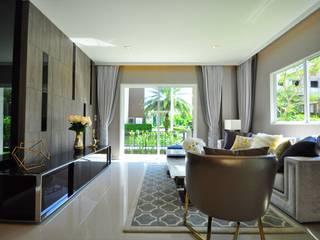 บ้านตัวอย่าง คาซ่าวิลล์ ราชพฤกษ์-พระราม5:   by safehouse decoration