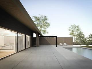 032_Casa in collina: Case in stile  di MIDE architetti