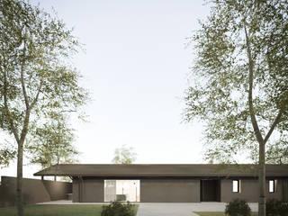 032_Casa in collina: Case in stile In stile Country di MIDE architetti