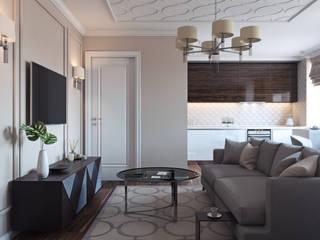 Modern living room by Дизайнер Светлана Юркова Modern