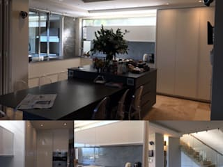 Kitchen and Entertainment room remodel in Campsbay:  Kitchen by Cornerstone Projects,