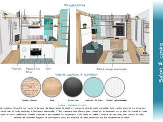 Pièce de vie - Palette couleurs:  de style  par Sb Design Concept
