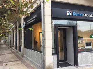 KUNTS Estudio Fotografía. Berango. Bizkaia Oficinas y tiendas de estilo industrial de DEDISEÑO Interiorismo Industrial