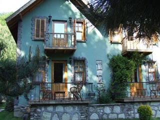 dış mekan-cephe Kırsal Evler BYAZ İnşaat Mimarlık ve Tasarım Kırsal/Country