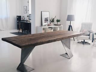 Salas de estar minimalistas por Wichaister Minimalista