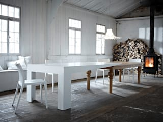 Kißkalt Designs Dining roomTables Wood White