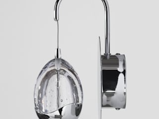Bulla Lighting Range from Litecraft Litecraft Living roomLighting Metal Metallic/Silver