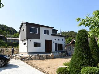 전북 진안 능금리 목조주택: 한다움건설의  주택