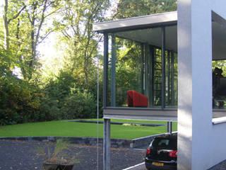 Woonhuis uitbreiding Oosterbeek:  Woonkamer door Maartje Kaper Architecte BNA