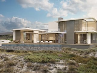 Beach House, Melkbos:  Houses by GSQUARED architects
