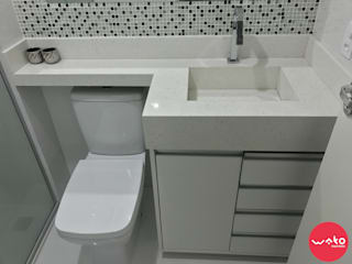WAKO Design de Interiores Modern Bathroom White
