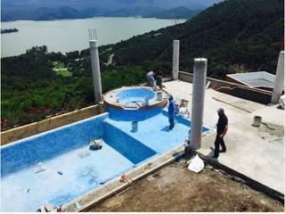 泳池 by Albercas Aqualim Toluca, 殖民地風