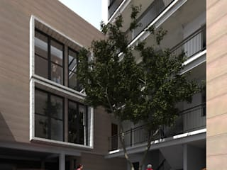 CHINANTECOS 20 Casas modernas de Protocolo Ingeniería & Arquitectura Moderno