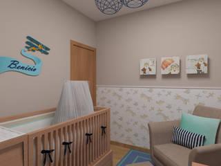 Quarto Bebê: Quarto infantil  por DA.rquitetura,Clássico