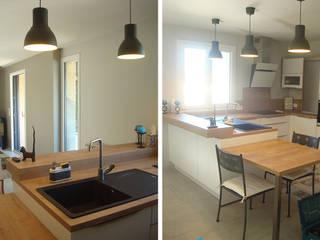 Maison Individuelle JASSANS (01) Cuisine moderne par Florian PRESLE Moderne