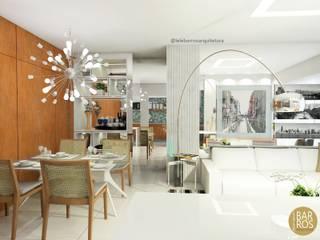 Salones de estilo  de Lele Barros, Moderno