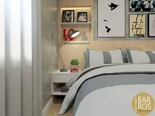 Dormitorios de estilo  de Lele Barros, Moderno