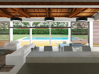 Modern Pool by COLECTIVO CREATIVO Modern