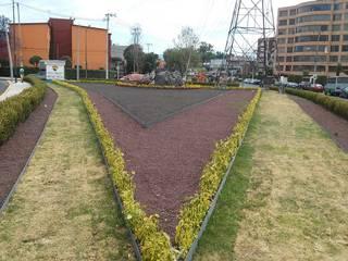 MODEP MAR DE LA TRANQUILIDAD Jardines rústicos de Protocolo Ingeniería & Arquitectura Rústico