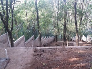 CECAP Jilotzingo: Escuelas de estilo  por IGAC Ingeniería Geotécnica Arquitectura y Construcción