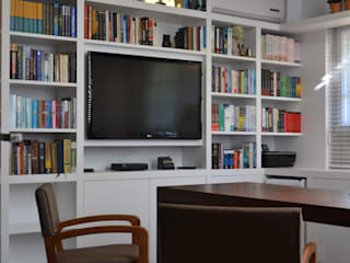 Modern study/office by Join Arquitetura e Interiores Modern