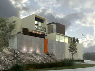 Sierra Alta Casas modernas de Diseño 102 Moderno
