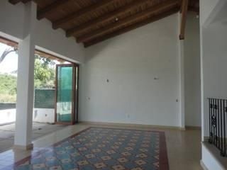Wohnzimmer von ARQUITECTOS BARRERA OSORIO