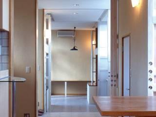 二世帯住宅 HOUSE モダンデザインの リビング の HASAS 一級建築士事務所 長谷川健吾建築設計事務所 モダン