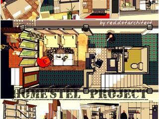 ็็Hostel project: ผสมผสาน  โดย iamarchitex, ผสมผสาน