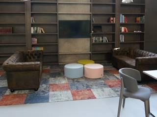 bibliotheek en maatwerk van onze meubelmakers:   door AID Interieur Architecten