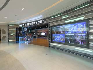Industrial style corridor, hallway and stairs by 舍子美學設計有限公司 Industrial