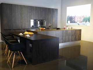 Matt surface whole kitchen:   by GIO HOME KITCHEN .CO.,LTD