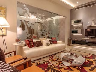 Home projects Zeba India Pvt. Ltd. Modern living room