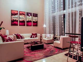 Home projects:  Living room by Zeba India Pvt. Ltd.