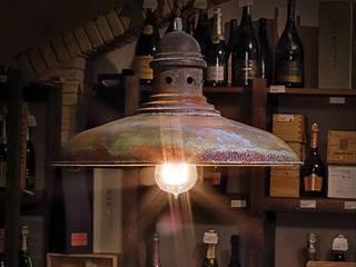 Bodega restaurante en Cariñena de Retrolampe Rústico
