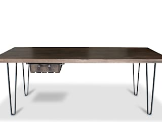 Esstisch Eiche im Industrie Design T.T1:   von neuformat möbeldesign