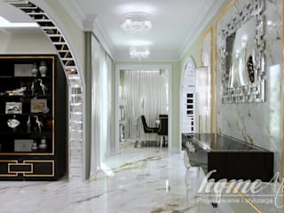 Classic style corridor, hallway and stairs by Home Atelier Classic