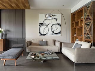 BARDASANO ARQUITECTOS Modern living room