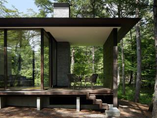 根據 atelier137 ARCHITECTURAL DESIGN OFFICE 現代風 木頭 Wood effect