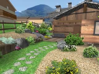 Rustieke tuinen van Anthemis Bureau d'Etude Paysage Rustiek & Brocante