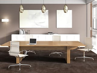 FERCIA - Furniture Solutions 辦公大樓 複合木地板 Wood effect