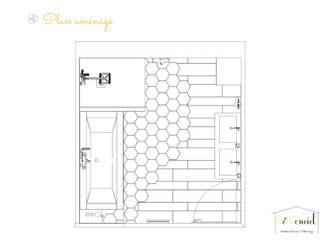 Rénovation d'une salle de Bain:  de style  par Démenciel