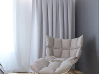 Комната студента Спальня в стиле минимализм от JoinForces studio Минимализм