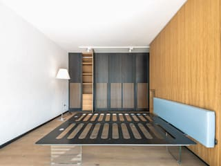 Chambre minimaliste par Scrigno S.p.A. Unipersonale Minimaliste