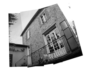 Transformation d'une maison rennaise par Atelier Claire Dupriez Moderne