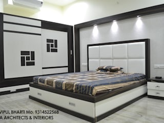 Prem Chelani ji:  Bedroom by MAA ARCHITECTS & INTERIOR DESIGNERS