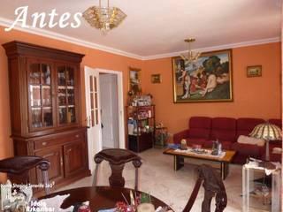 Antes - Sala comedor:  de estilo  de Home Staging Tenerife 360º- Idoia Askasibar